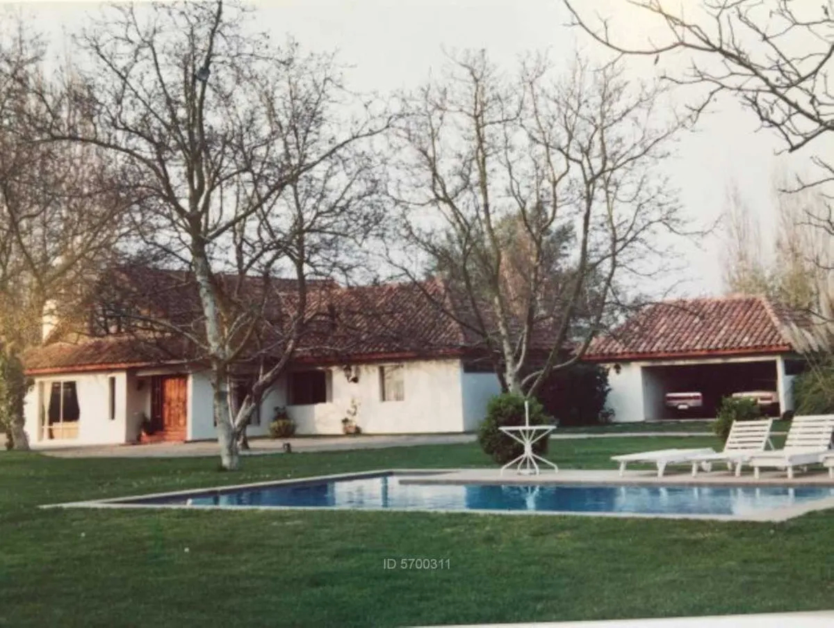 Casa En Parcela A 30 Min De Santiago
