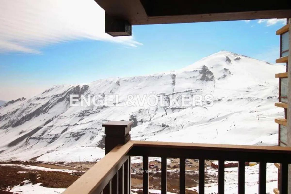 Centro De Ski V. Nevado Depto 3d 2b + Te