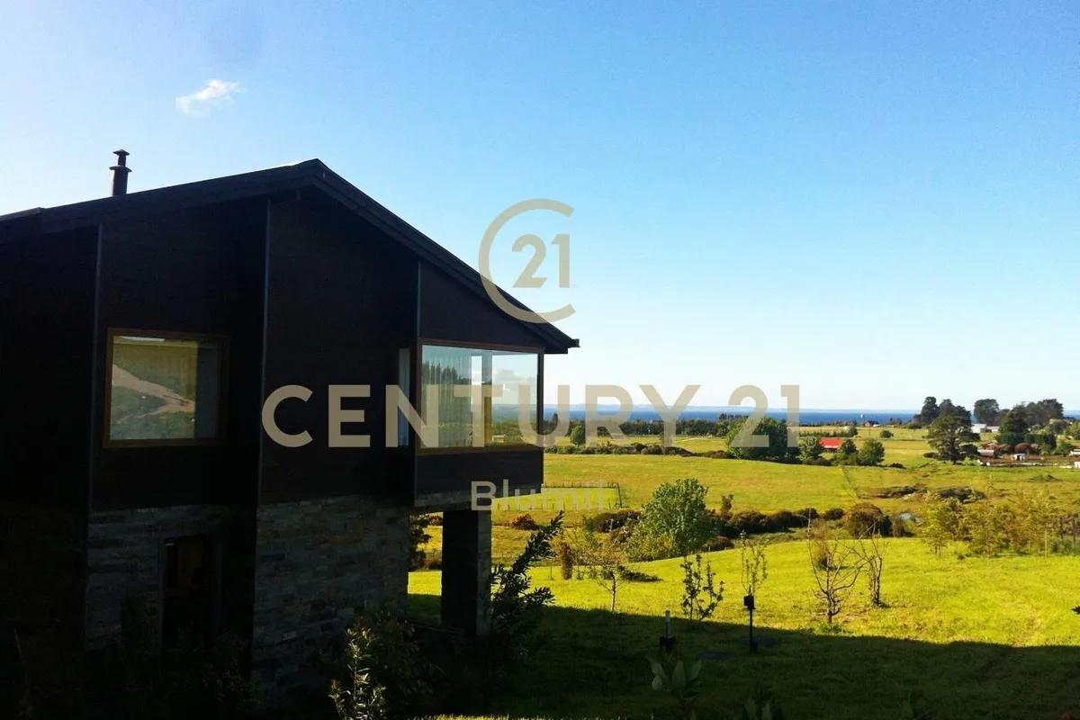 Gran Casa Con Vista Lago En Exclusivo Condominio En Puerto Varas