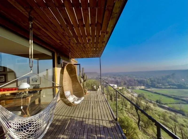 2 Casas Sustentables En Parcela, Vista, Piscina Y Quincho - Camino El Cerro