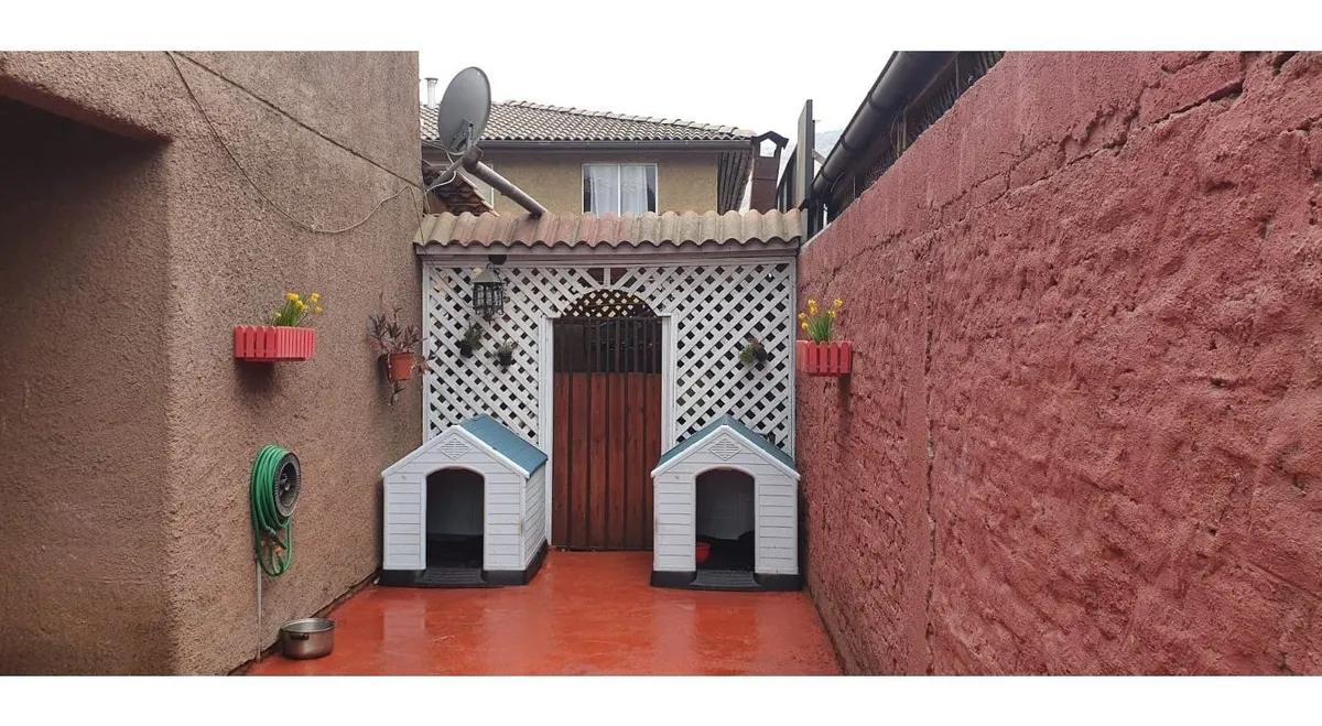 Casa En Renca (villa Ciudad Nueva Renca), Excelente Ubicació